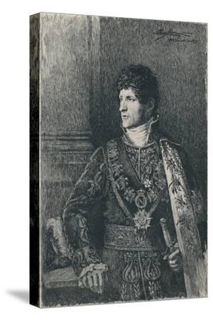 'Felice Pasquale Bacciocchi', c1805-1820, (1896)-Unknown-Stretched Canvas Print