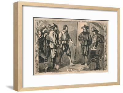 'The Mutiny', c1870-Unknown-Framed Giclee Print