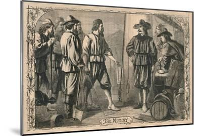 'The Mutiny', c1870-Unknown-Mounted Giclee Print