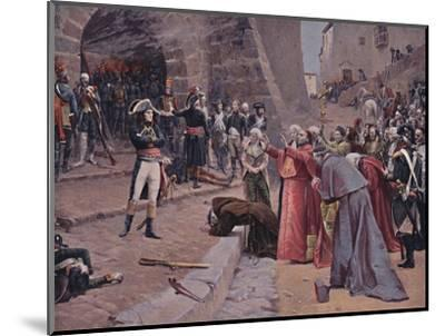 'The Siege of Pavia', 1796, (1896)-Unknown-Mounted Giclee Print