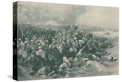 'The Battle of Aboukir', 1799, (1896)-Unknown-Stretched Canvas Print