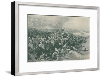 'The Battle of Aboukir', 1799, (1896)-Unknown-Framed Giclee Print