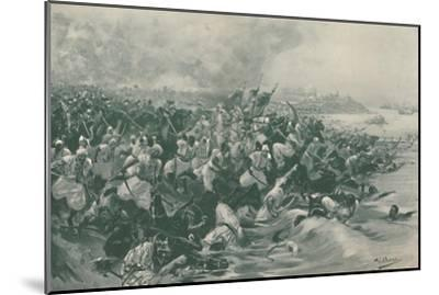 'The Battle of Aboukir', 1799, (1896)-Unknown-Mounted Giclee Print
