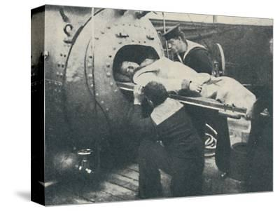 'A Recompression Chamber', 1936-Unknown-Stretched Canvas Print