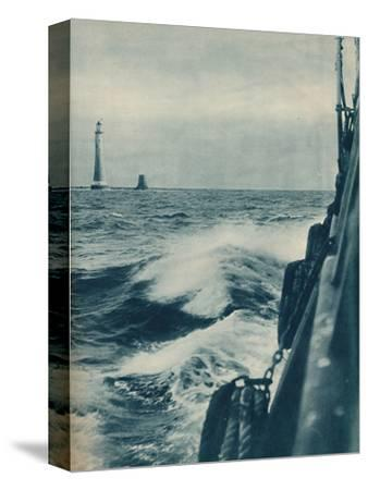 'Eddystone Lighthouse', 1936-Unknown-Stretched Canvas Print