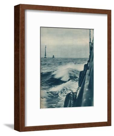 'Eddystone Lighthouse', 1936-Unknown-Framed Photographic Print