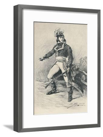 'General Bathélemy-Catherine Joubert', 1790s, (1896)-Unknown-Framed Giclee Print