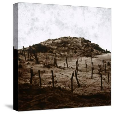 Trenches at Mamelon Vert, Nieuwpoort, Flanders, Belgium, c1914-c1918-Unknown-Stretched Canvas Print