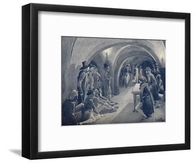'Bonaparte Closing The Panthéon Club', 1796, (1896)-Unknown-Framed Giclee Print
