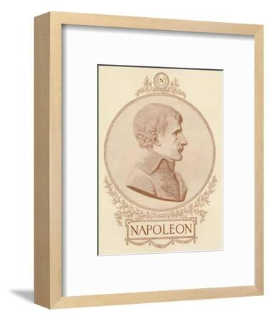 'Napoleon', c1799-1804, (1896)-Unknown-Framed Giclee Print
