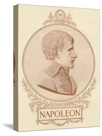 'Napoleon', c1799-1804, (1896)-Unknown-Stretched Canvas Print