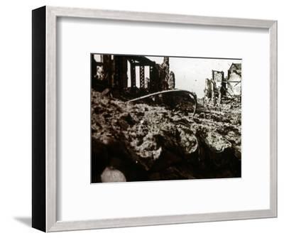 Casino, Nieuwpoort, Flanders, Belgium, c1914-c1918-Unknown-Framed Photographic Print