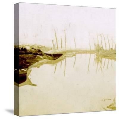 Noordschote, Flanders, Belgium, c1914-c1918-Unknown-Stretched Canvas Print