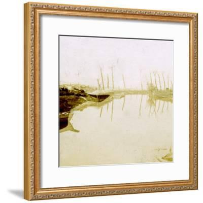 Noordschote, Flanders, Belgium, c1914-c1918-Unknown-Framed Photographic Print