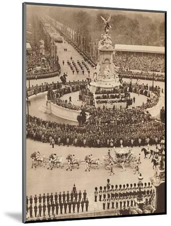 'Fanfare of Trumpets, Roll of Drums', May 12 1937-Unknown-Mounted Photographic Print