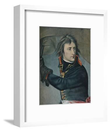 'Bonaparte at Arcole', 1797, (1896)-Unknown-Framed Giclee Print