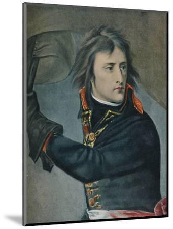 'Bonaparte at Arcole', 1797, (1896)-Unknown-Mounted Giclee Print