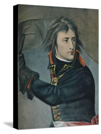 'Bonaparte at Arcole', 1797, (1896)-Unknown-Stretched Canvas Print
