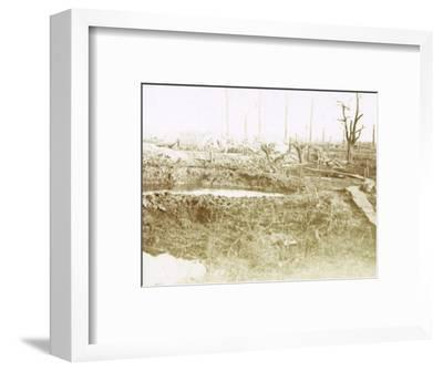Battlefield, c1914-c1918-Unknown-Framed Photographic Print