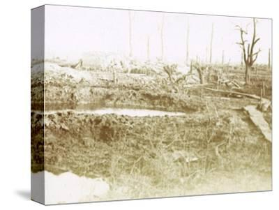 Battlefield, c1914-c1918-Unknown-Stretched Canvas Print