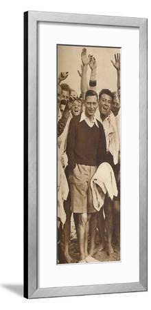 'When the King shot the Shooters', Southwold, 1932 (1937)-Unknown-Framed Photographic Print