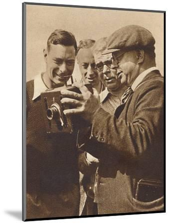 'When the King shot the Shooters', Southwold, 1932 (1937)-Unknown-Mounted Photographic Print