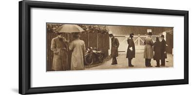 'At the Gates, Fort Belvedere', 1936 (1937)-Unknown-Framed Photographic Print