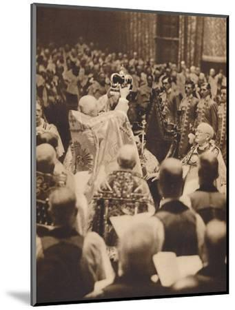 'The King is Crowned', May 12 1937-Unknown-Mounted Photographic Print