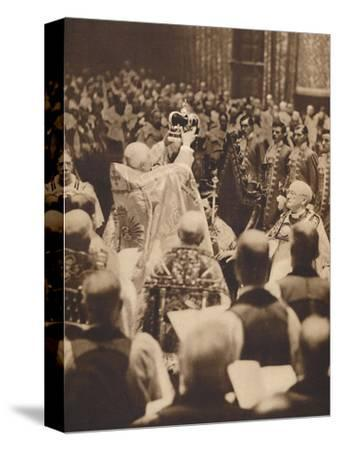 'The King is Crowned', May 12 1937-Unknown-Stretched Canvas Print