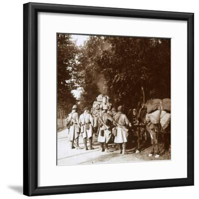 Chavonne, France, c1914-c1918-Unknown-Framed Photographic Print