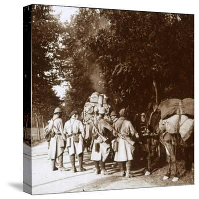 Chavonne, France, c1914-c1918-Unknown-Stretched Canvas Print