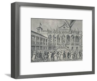 'Opening of New Hungerford Market, July 2nd, 1833', (1920)-Unknown-Framed Giclee Print