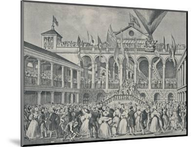 'Opening of New Hungerford Market, July 2nd, 1833', (1920)-Unknown-Mounted Giclee Print