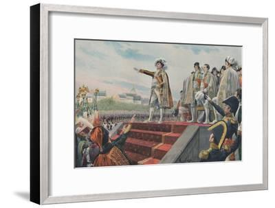 'The Field of May, April 1815, (1896)-Unknown-Framed Giclee Print