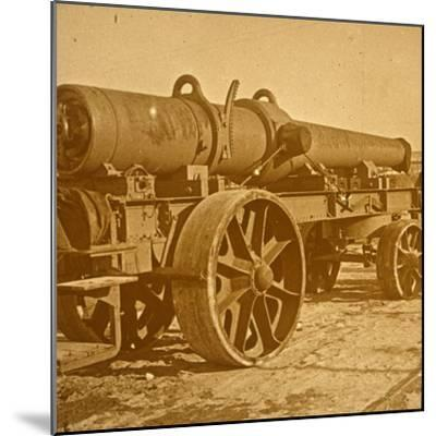 Heavy artillery, 1917 Offensive-Unknown-Mounted Photographic Print