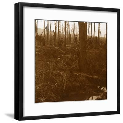 Mount Kemmel, Flanders, Belgium, c1914-c1918-Unknown-Framed Photographic Print