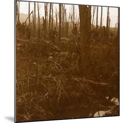 Mount Kemmel, Flanders, Belgium, c1914-c1918-Unknown-Mounted Photographic Print