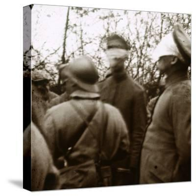 Blindfolded soldiers, November 1918-Unknown-Stretched Canvas Print