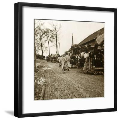 'The Exodus', c1914-c1918-Unknown-Framed Photographic Print