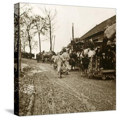 'The Exodus', c1914-c1918-Unknown-Stretched Canvas Print