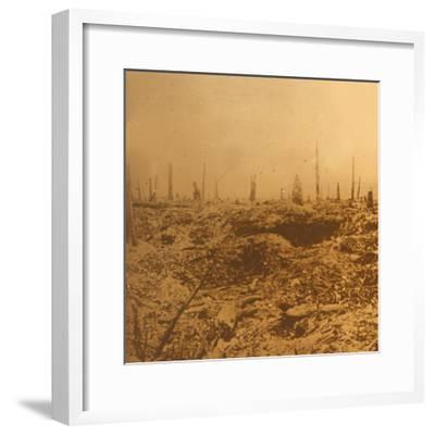 Bois du Chapitre, Vaux, northern France, c1914-c1918-Unknown-Framed Photographic Print