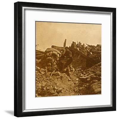 Look-out, c1914-c1918-Unknown-Framed Photographic Print