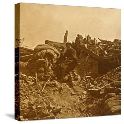 Look-out, c1914-c1918-Unknown-Stretched Canvas Print