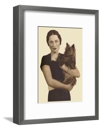 'Mrs. Simpson', c1936 (1937)-Unknown-Framed Photographic Print