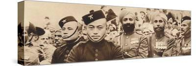 'Indian Heroes', 1937-Unknown-Stretched Canvas Print