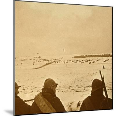 Assault waves, c1914-c1918-Unknown-Mounted Photographic Print