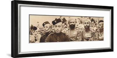 'Indian Heroes', 1937-Unknown-Framed Photographic Print