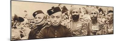 'Indian Heroes', 1937-Unknown-Mounted Photographic Print