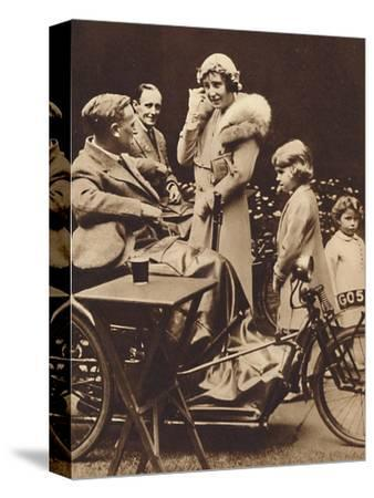 'With Disabled Ex-Servicemen', c1936, (1937)-Unknown-Stretched Canvas Print
