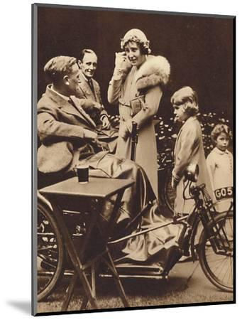 'With Disabled Ex-Servicemen', c1936, (1937)-Unknown-Mounted Photographic Print